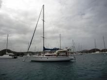 Chantier naval de Biot Langevin 43 : Anchorage in Martinique